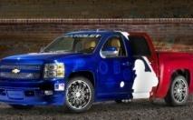 Chevrolet Silverado 1500 MLB au SEMA