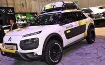 Citroën C4 Cactus Aventure : un dérivé tout-terrain à Genève
