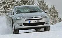 Essai Citroën C5 Snow Motion : Patinage artistique