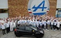 Renault Clio RS : la 30 000ème est sortie de l'usine de Dieppe