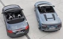 Comparatif Audi R8 GT Spyder & TT RS+ : Les jusqu'au-boutistes