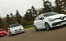 Comparatif Renault Clio R.S. / Peugeot 208 GTi / Ford Fiesta ST : le plaisir grand gagnant