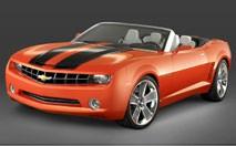 Camaro concept : le coupé en 2009, le cab en 2010