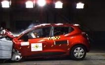 Le plein d'étoiles pour la Clio IV à l'EuroNCAP