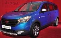 Mondial Auto 2014 : Dacia Lodgy Stepway, le monospace champêtre