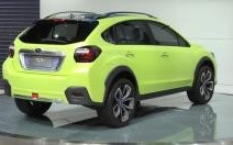 Subaru XV Concept : un SUV trendy