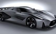 Le concept Nissan 2020 grandeur nature à Goodwood