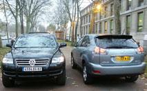 Essai Comparatif/ Lexus RX 300 vs Volkswagen Touareg V6 : SUV raffinés
