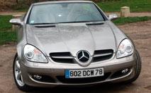 Essai/ Mercedes SLK 350 : le roadster plaisir