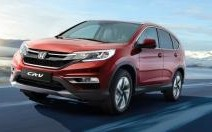 Honda CR-V restylé: par souci d'harmonisation