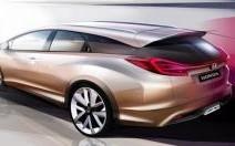 Le concept Honda Civic Wagon au salon de Genève