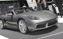 Porsche 718 Boxster: 4-cylindres et jusqu'à 350 ch