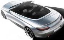 La Mercedes Classe C Cabriolet se montre en croquis