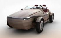 Toyota invente le roadster en bois