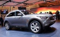 Infiniti FX50 : le BMW X5 dans le collimateur