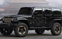Jeep : un Wrangler Dragon Concept à Pékin