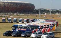 Kia livre 207 véhicules officiels pour la Coupe du Monde FIFA 2010