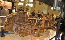 La Bugatti Brescia restée sous l'eau 73 ans adjugée 260 500 euros