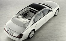 La Maybach 62 tombe le haut