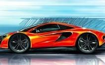 Un V8 de 450 ch pour la future petite McLaren