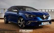 Voici la Renault Mégane GT Coupé que vous ne verrez jamais