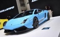 Lamborghini Gallardo LP570-4 : blue power