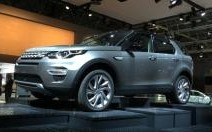 Mondial Auto 2014 : Land Rover Discovery Sport