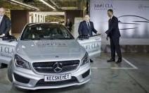 Mercedes célèbre la production du premier CLA
