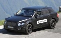 Photo volée : Bentley muscle son futur SUV !