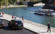 Les voies sur berge à Paris ferment pour travaux