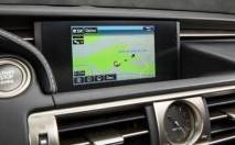 Une navigation de pointe sur la Lexus IS