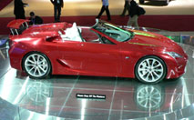 Lexus LF-A Roadster : concept décoiffant