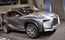 La Lexus LF-NX en vidéo