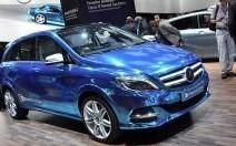 Mercedes Classe B Electric Concept : La Classe B met les watts