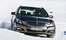 Mercedes Classe E 4Matic : tout schuss !