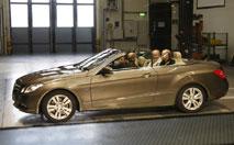 Mercedes Classe E Cabriolet : l'air sans les remous