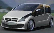 Mercedes F 600 Hygenius : l'hybride électrique-hydrogène