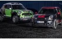 Des Mini Countryman en véhicules d'assistance pour le Dakar 2013