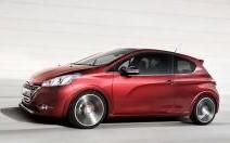 Peugeot 208 GTI Concept et XY Concept : La 208 rêve de haut de gamme