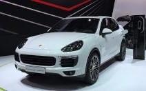 Mondial Auto 2014 : Porsche Cayenne restylé