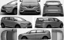 Le futur Renault X-Space en fuite sur le net