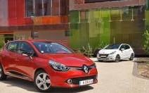 Renault Clio 4 - Peugeot 208, première confrontation : La Clio annonce la couleur
