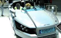 Rinspeed Senso : l'auto sensuelle
