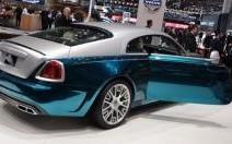Rolls-Royce Wraith Mansory : chromée et anodisée