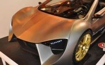 Sbarro Speed'R, roadster à l'étude