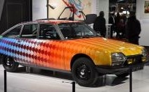 Citroën met l'art à l'honneur à Rétromobile