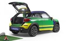 Mini Paceman GoalCooper : sur un air de samba !