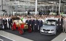 15 millions de véhicules Skoda assemblés