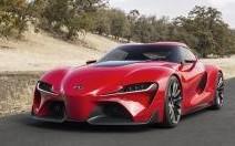 Toyota FT-1 : Toyota tire à boulets rouges à Detroit
