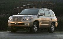 Toyota Land Cruiser SW : quart d'heure américain